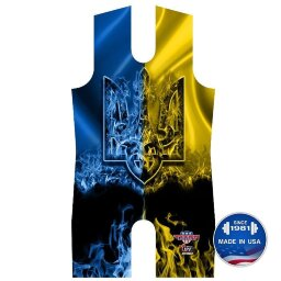 TITAN Ukraine National Team Singlet (размер XS, до 52 кг)